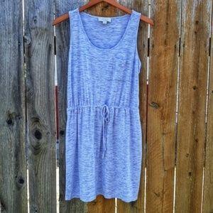 Olive & Oak Heathered Lavender Tee Shirt Dress M